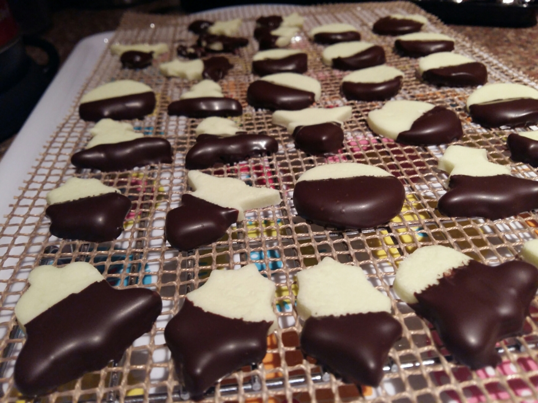 FORGOTTEN POST! Chocolate-Coated Peppermint Creams
