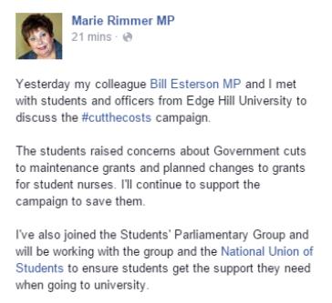 marie rimmer facebook