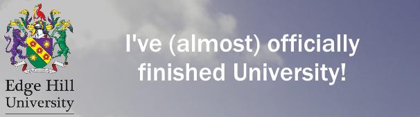 finished uni