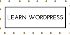 let's learn wordpress (10)